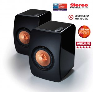 kef ls50 awards