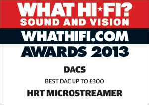 microstreamer whf2013awards