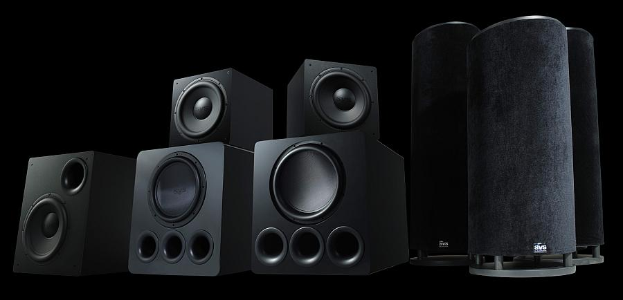 svs subwoofer family